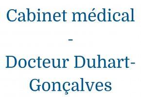 Cabinet médical du docteur Régine Duhart-Gonçalves