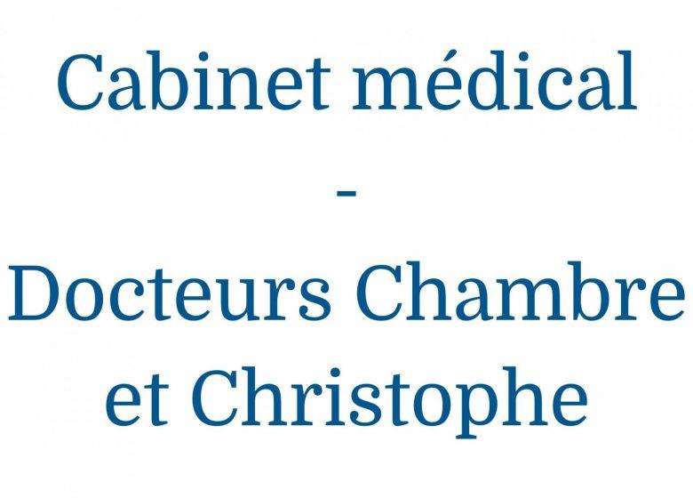 Cabinet médical des docteurs Chambre et Christophe