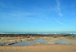 Landes et plage d'Erretegia