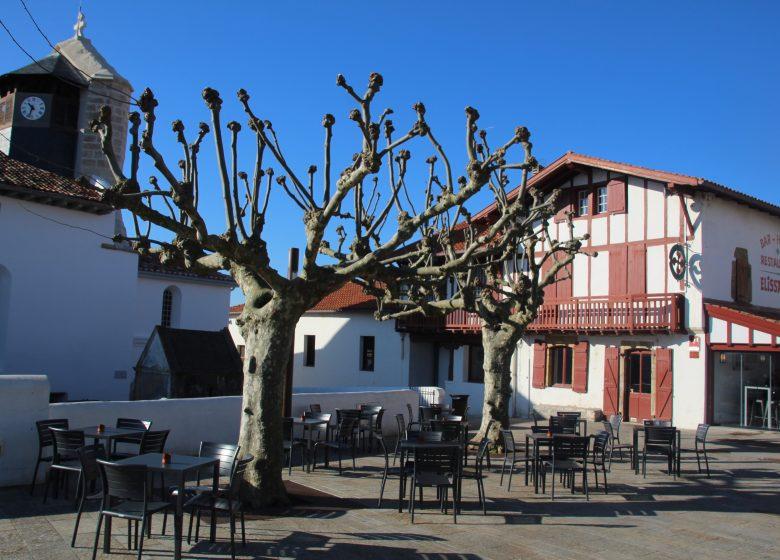 Le trinquet de l'hôtel-restaurant Elissaldia