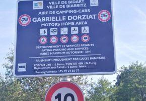 Aire de camping-cars Gabrielle Dorziat