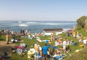 Compétition de surf Urkiteko