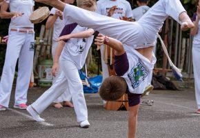 Démonstration de Capoeira Makhuwas